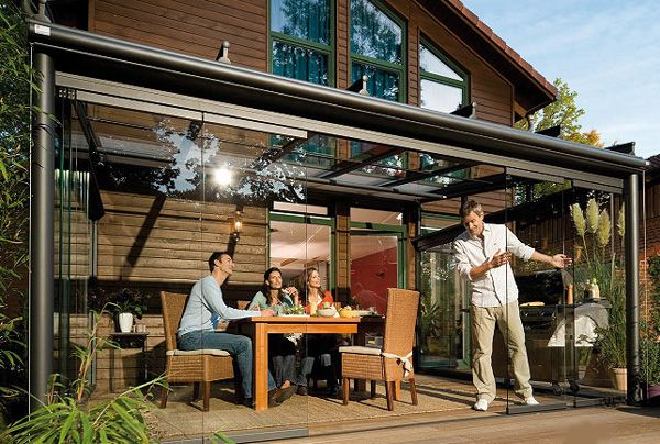 Glass Patio Rooms From Weinor, Outdoor Glass Patio Rooms