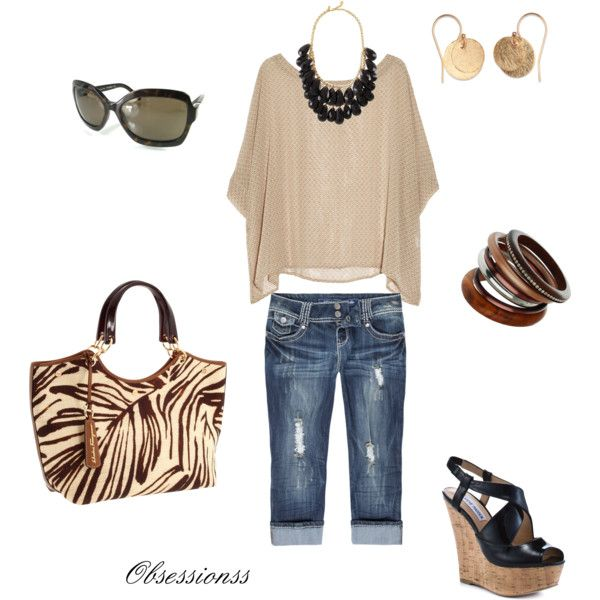 This look is totally me. Flowing top, great accessories and you are good to go!