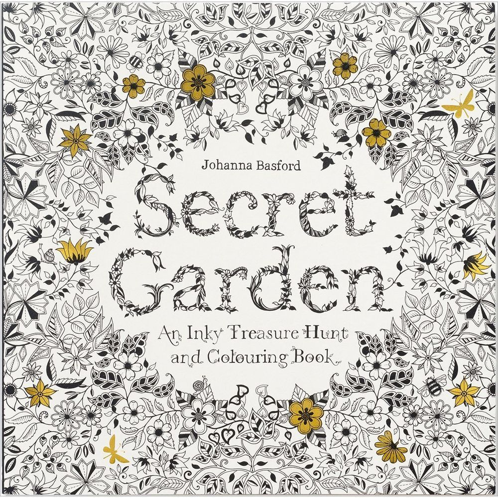 Secret Garden Coloring Pages For Adults An Inky Treasure Hunt Books