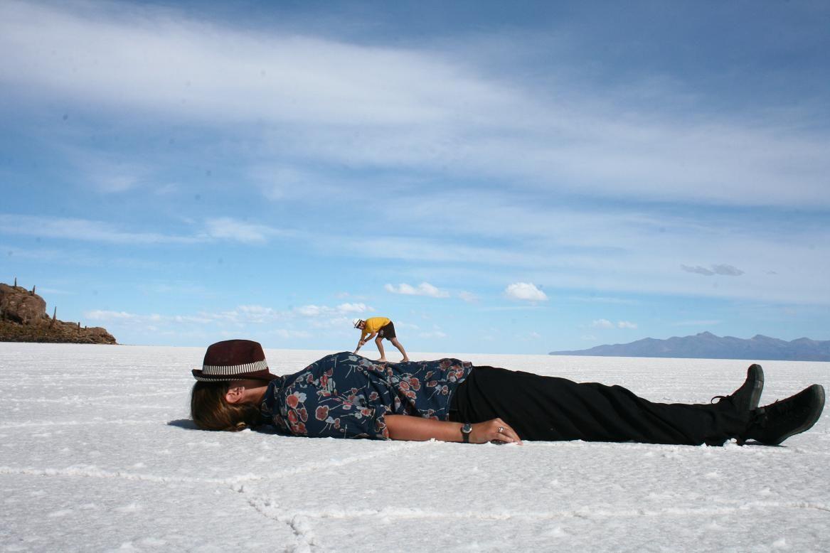 bolivia salt flats | Salt Flat Midgets; Invasive