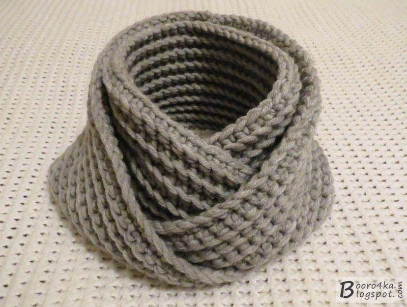 gancho de bufanda-LIC inusual y simple durante 2,5 horas   prendas ...
