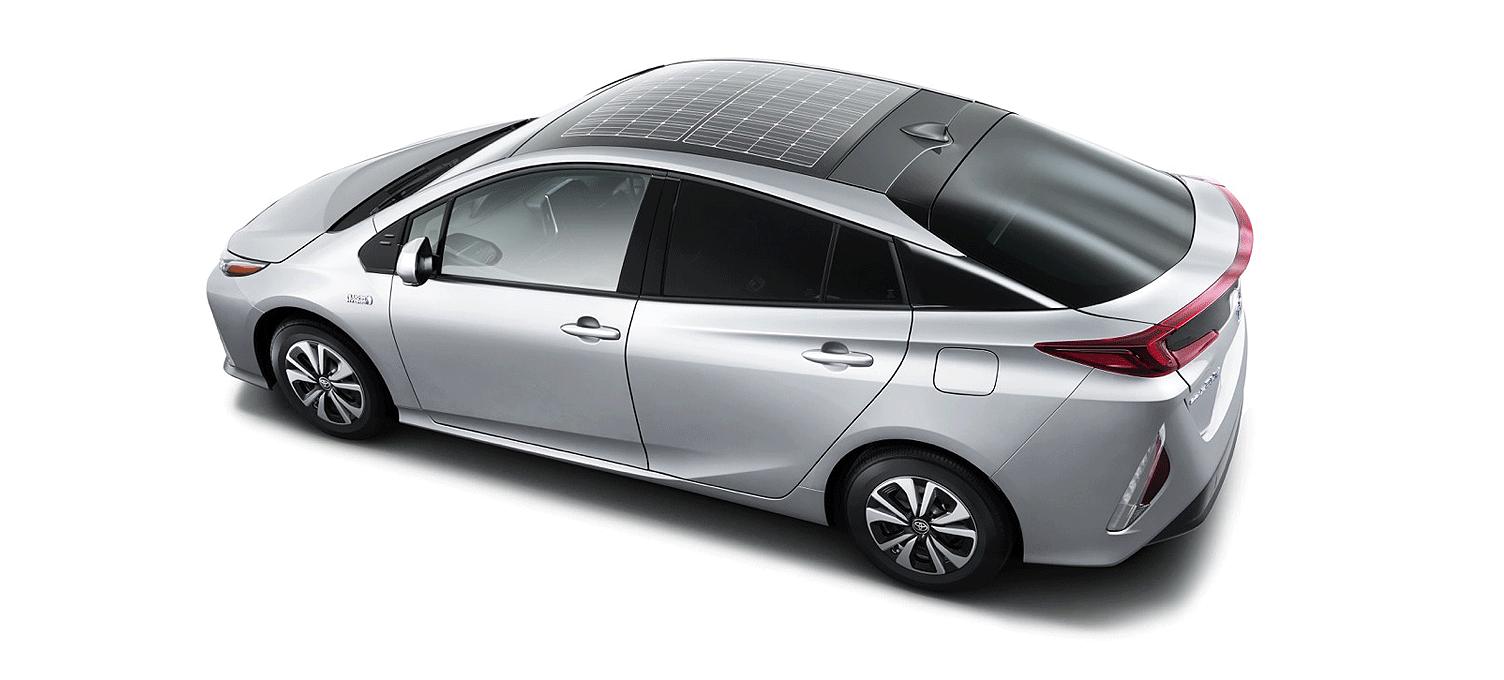 About Solar Car Toyota Prius Hybrid Car