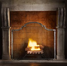 Restoration Hardware Fireplace Screens With Doors Hearth
