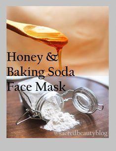 DIY Honig und Backpulver Maske – Entfernen Sie dunkle Ringe, Poren und Whitehead…