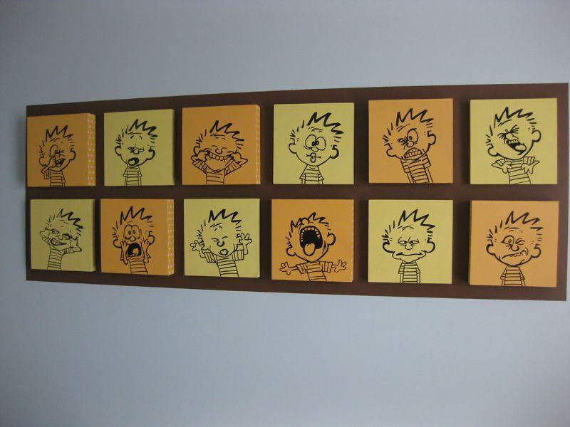 Calvin and Hobbes nursery art!   Baby   Pinterest   Cuarto de bebe ...