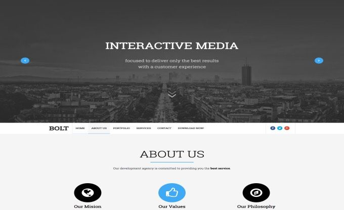 Bolt blogger template web graphics theme wp free pinterest bolt blogger template wajeb Images