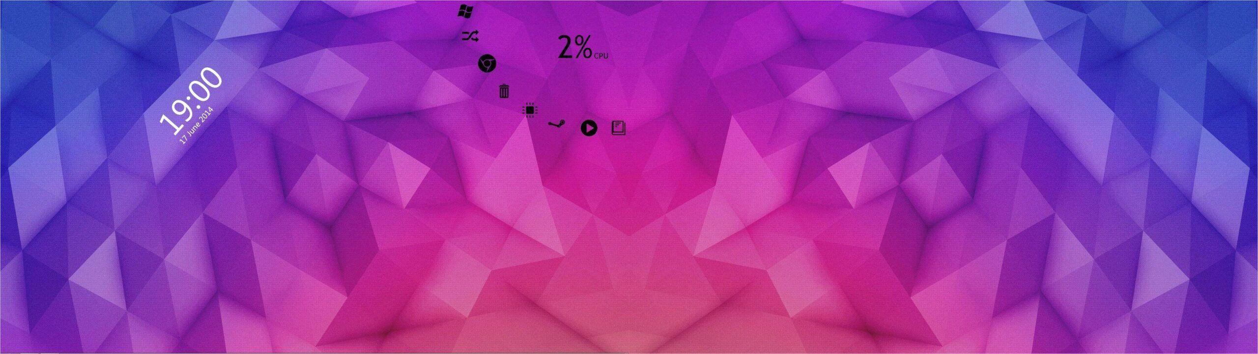 4k Dual Monitor Wallpaper Polygons In 2020 Dual Monitor Wallpaper Wallpaper Polygon
