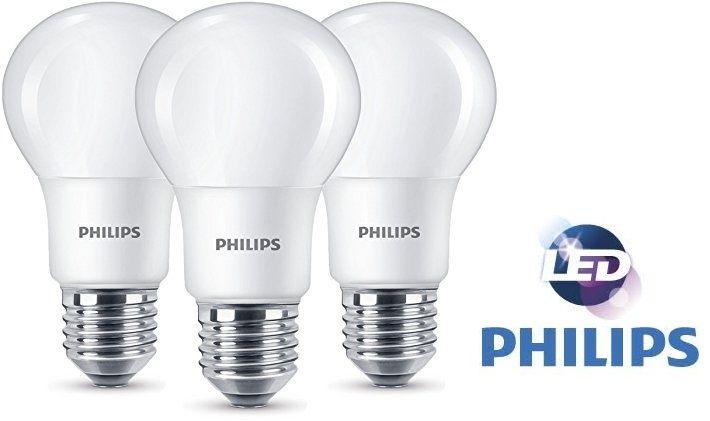 3 bombillas de clásicas LED de CholloPack Philips HeEIY9D2Wb