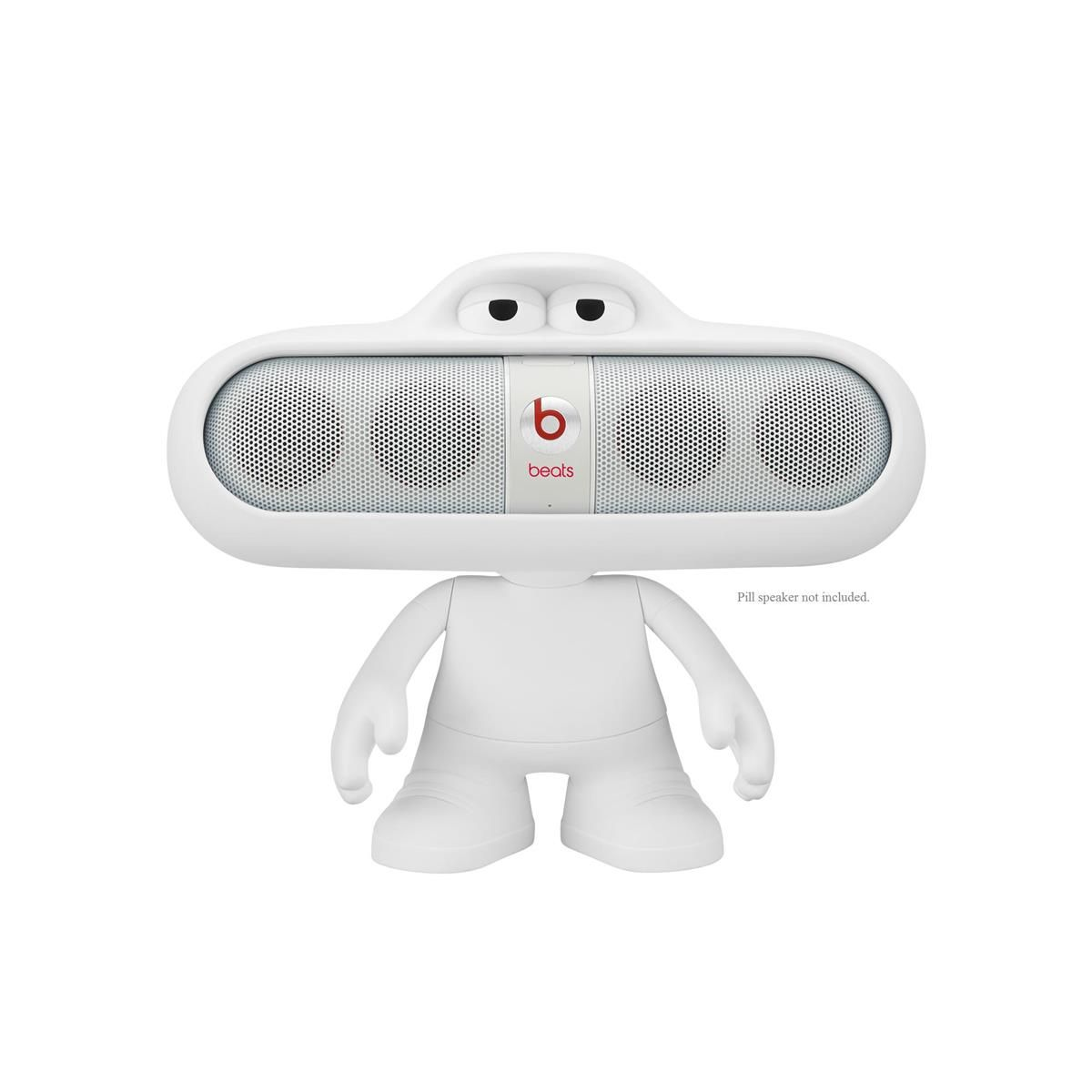 Beats Pill Character Speaker Holder (White) at World Wide Stereo
