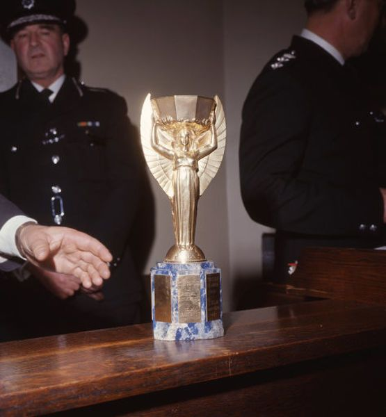 Print Of Soccer Fifa World Cup England 1966 Recovered World Cup Trophy Cannon Row Police Station London In 2020 World Cup Trophy Fifa World Cup Soccer Fifa