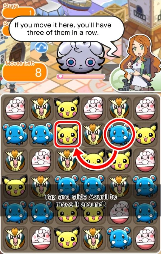Pokémon Shuffle is heading to Android and iOS devices