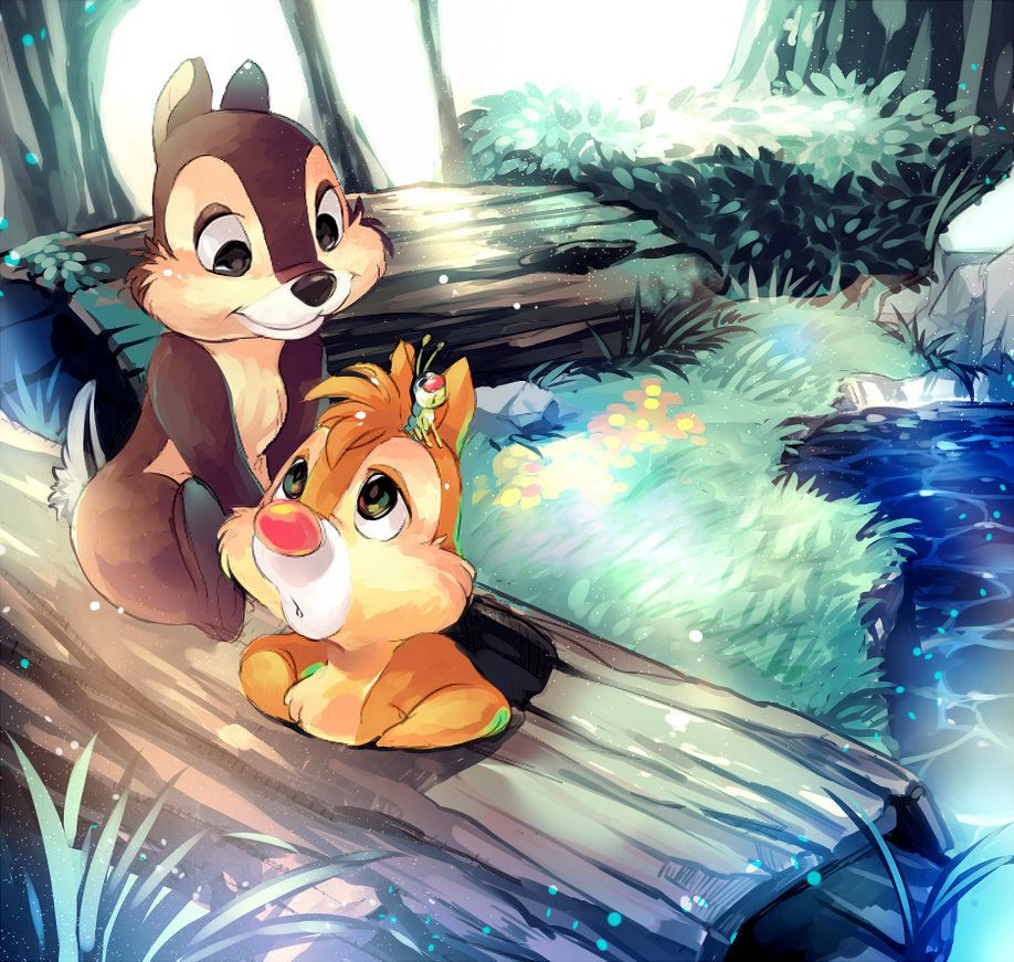 ♥ Chip & Chap ♥ | Chip and Dale | Pinterest