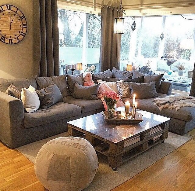 Cozy cozy Living Rooms Pinterest Cozy, Living rooms and Room