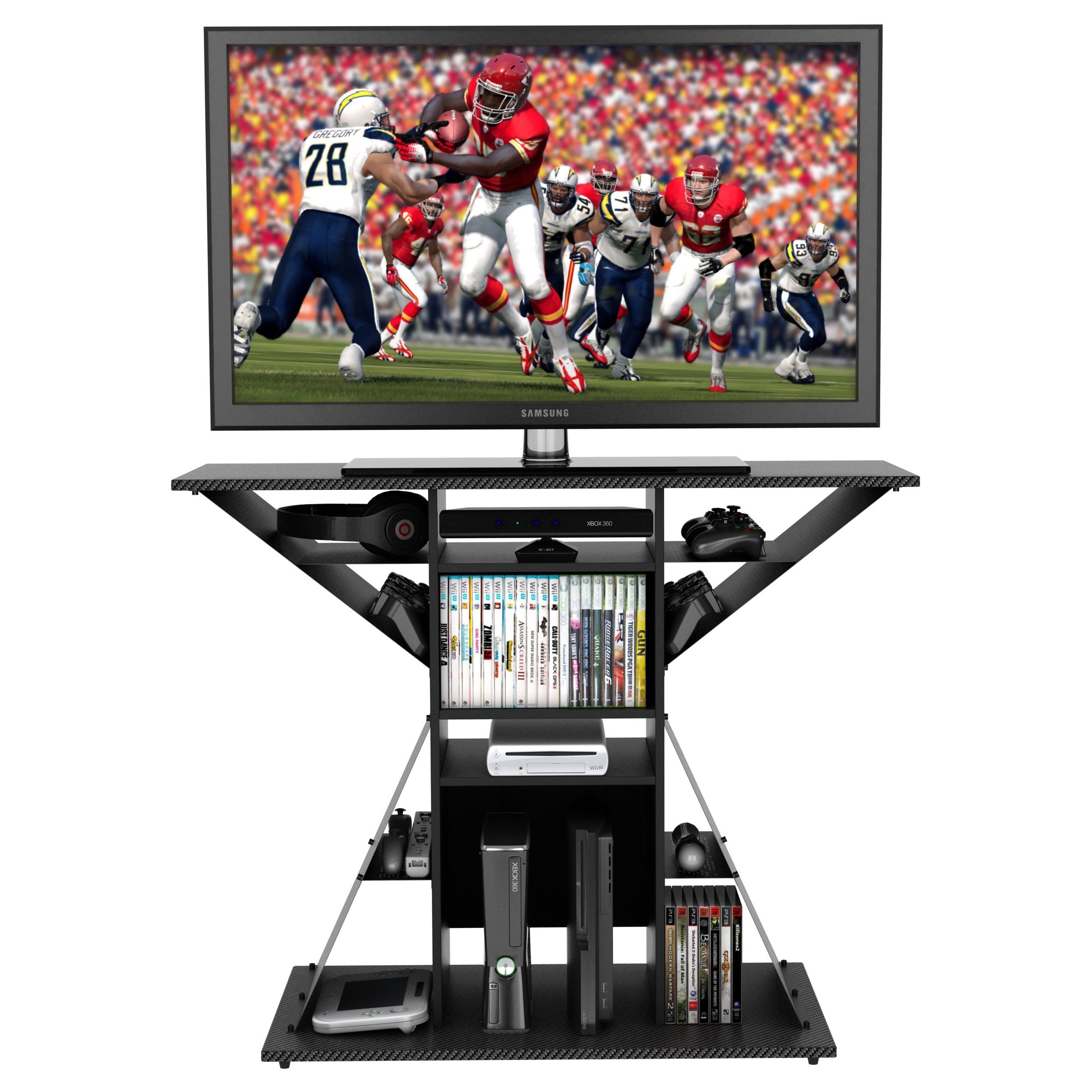 Gamers Will Be Thrilled With Atlantic S Phoenix Tv Stand And Game