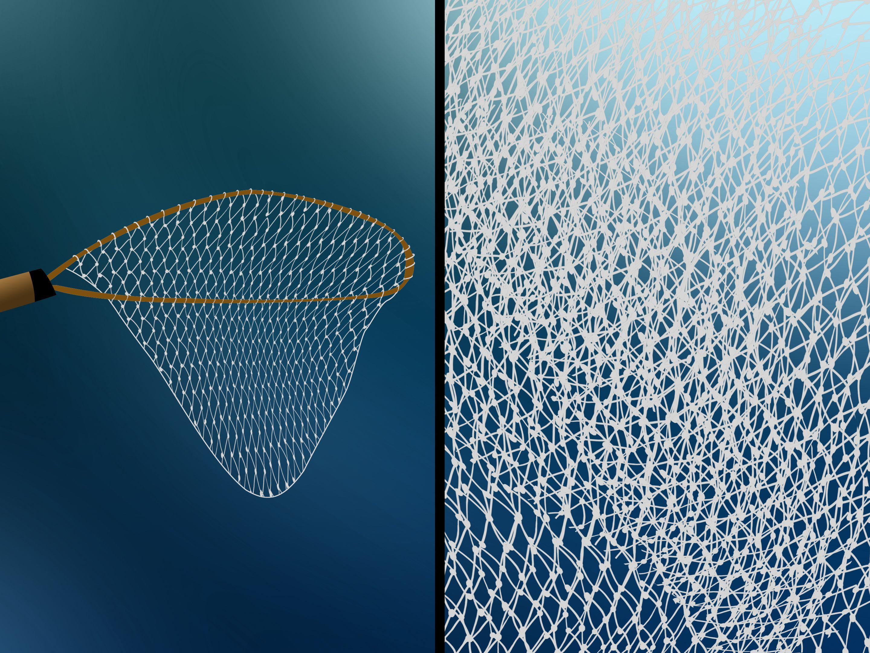 Make A Handmade Fishing Net Fishnet Fish Net Making