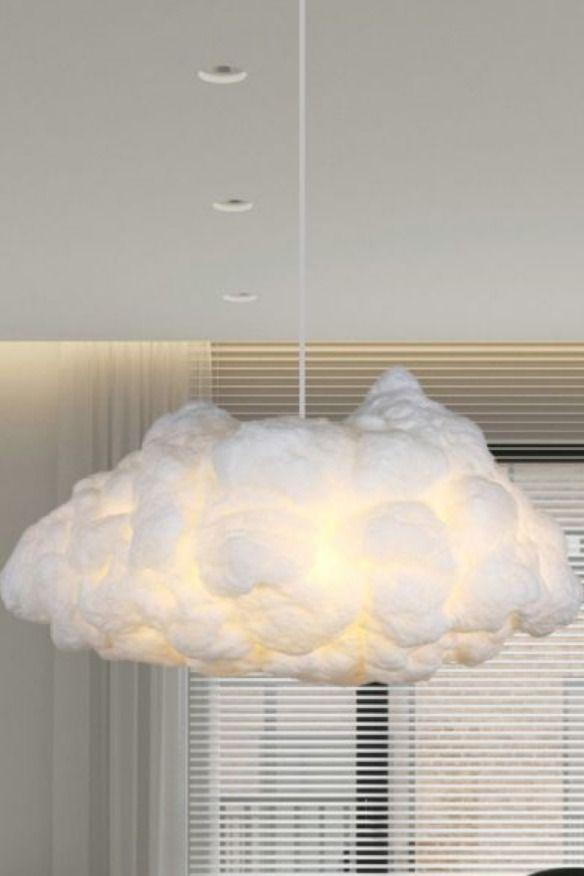 Bedroom cloudy art pendant light-Litfad