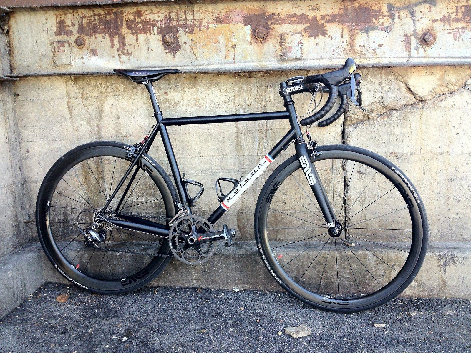 Kelson Frame Bike, Bicycle, Riding