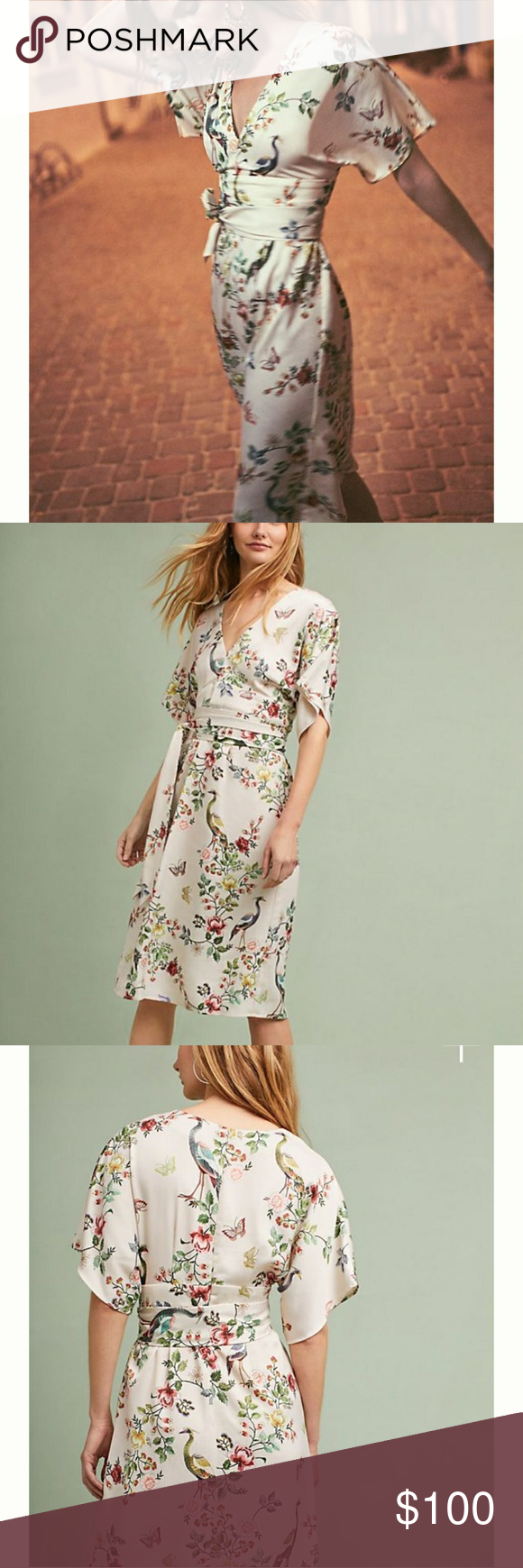 510325ede20a6 Avian Kimono Midi Dress by DRA Los Angeles Brand New w/ tags. Beautiful  kimono