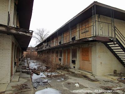 Photos) Abandoned homes in the corrupt city of Harvey