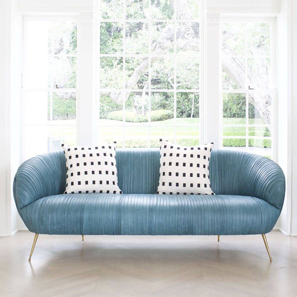 Souffle settee | Kelly wearstler, Settees and Living room sofa design