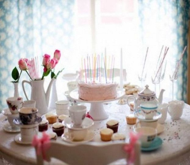 little girl tea party menu ideas - Little Girl Tea Party and How to ...