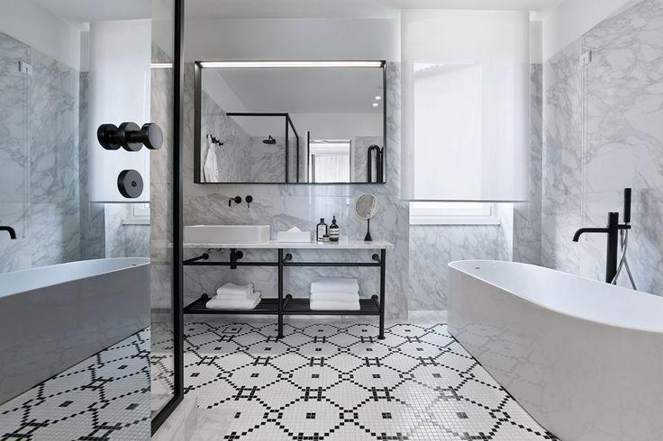 les plus belles salles de bains du monde en images salles de bain pinterest s rie de. Black Bedroom Furniture Sets. Home Design Ideas