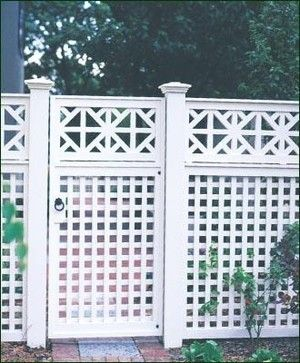 Special Chippendale Topper Modern Fencing Lattice Fence Trellis Fence Fence Design