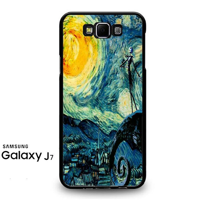 Starry Nightmare Before Christmas Samsung Galaxy J7 Prime Case
