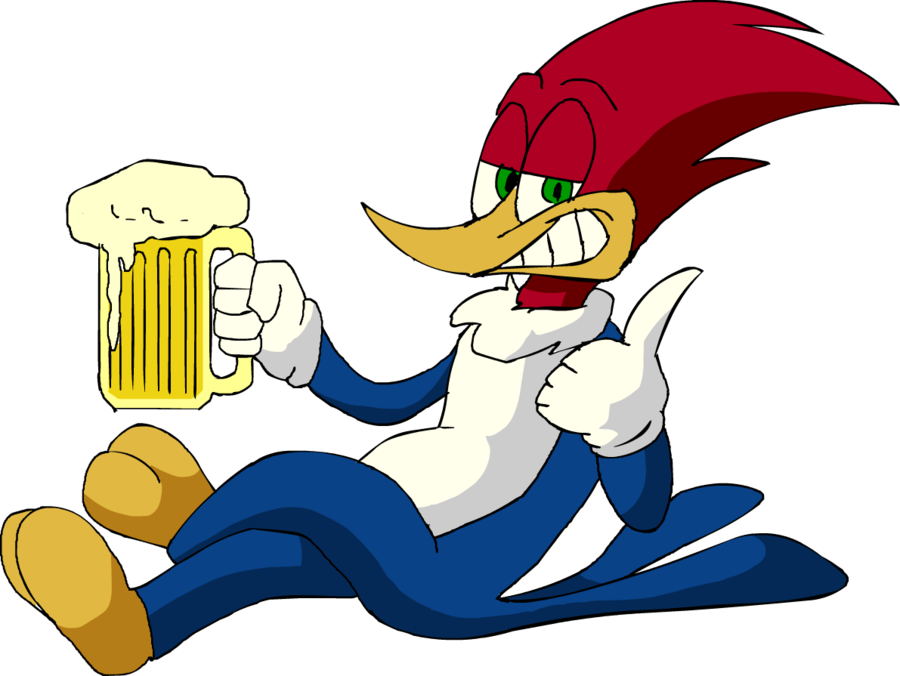 Woody Woodpecker Beer By Loulouvz On Deviantart Woody Woodpecker Woodpecker Art Betty Boop Cartoon