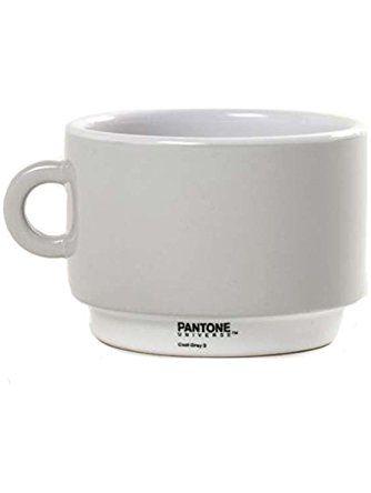 Captivating Pantone Universe Coffee Cup Cool Grey 3 ❤ DK LIVING, INC.