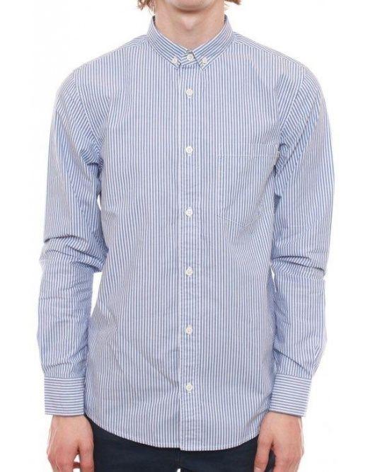 Carhartt L/S Strummer Shirt - Royal Stripe  £ 64.95