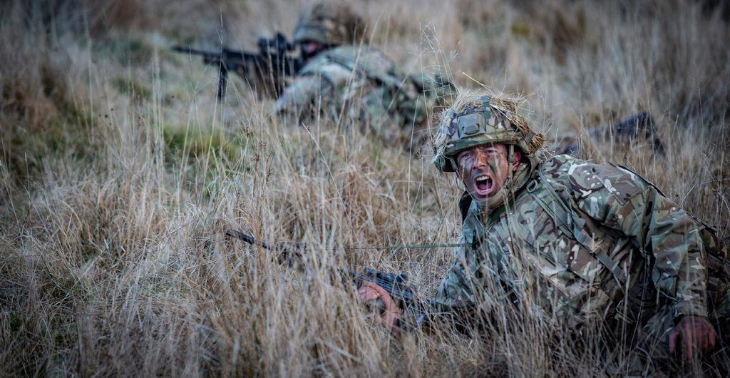 Reservist from 7 SCOTS training Warcop in 2020