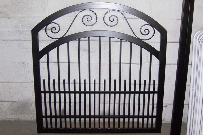 Ornamental Iron Gates | to make your garden gate as unique as you ...