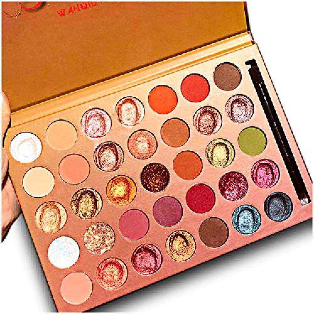 35 Colors Makeup Glitter Eyeshadow Palette Shimmer Matte