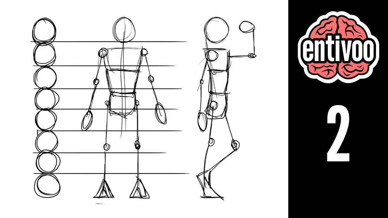 Aprende A Dibujar El Esqueleto Y Sus Proporciones Pintando Org Peace Gesture Drawings Draw