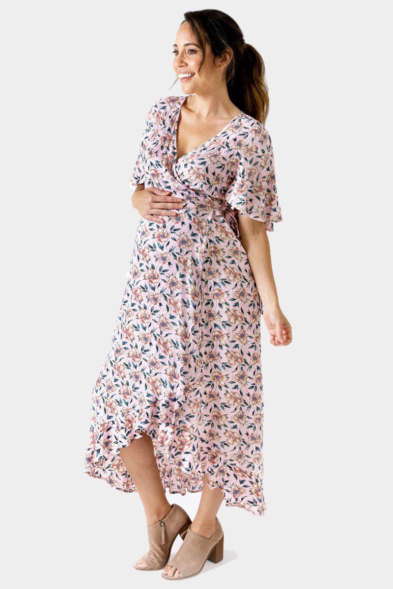 Harlow Maternity Nursing Wrap Dress Women Dress Online Maternity Clothes Australia Wrap Dress [ 1200 x 800 Pixel ]