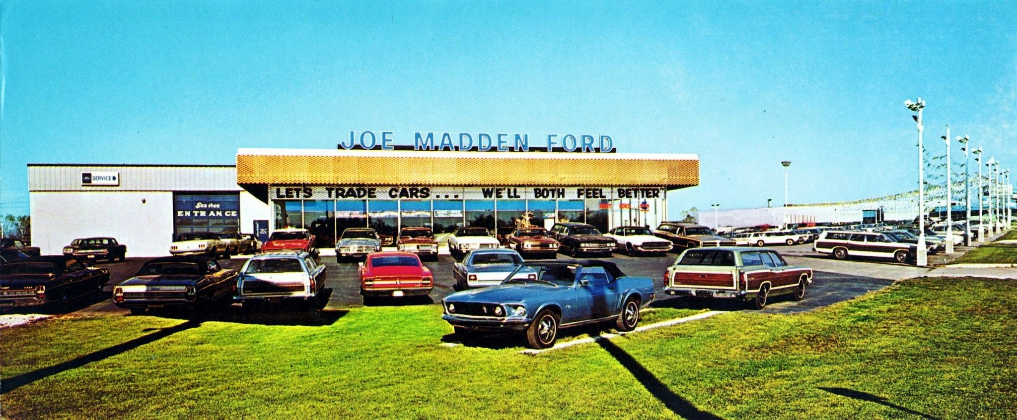 1969 Joe Madden Ford Dealership Downers Grove Illinois Downers