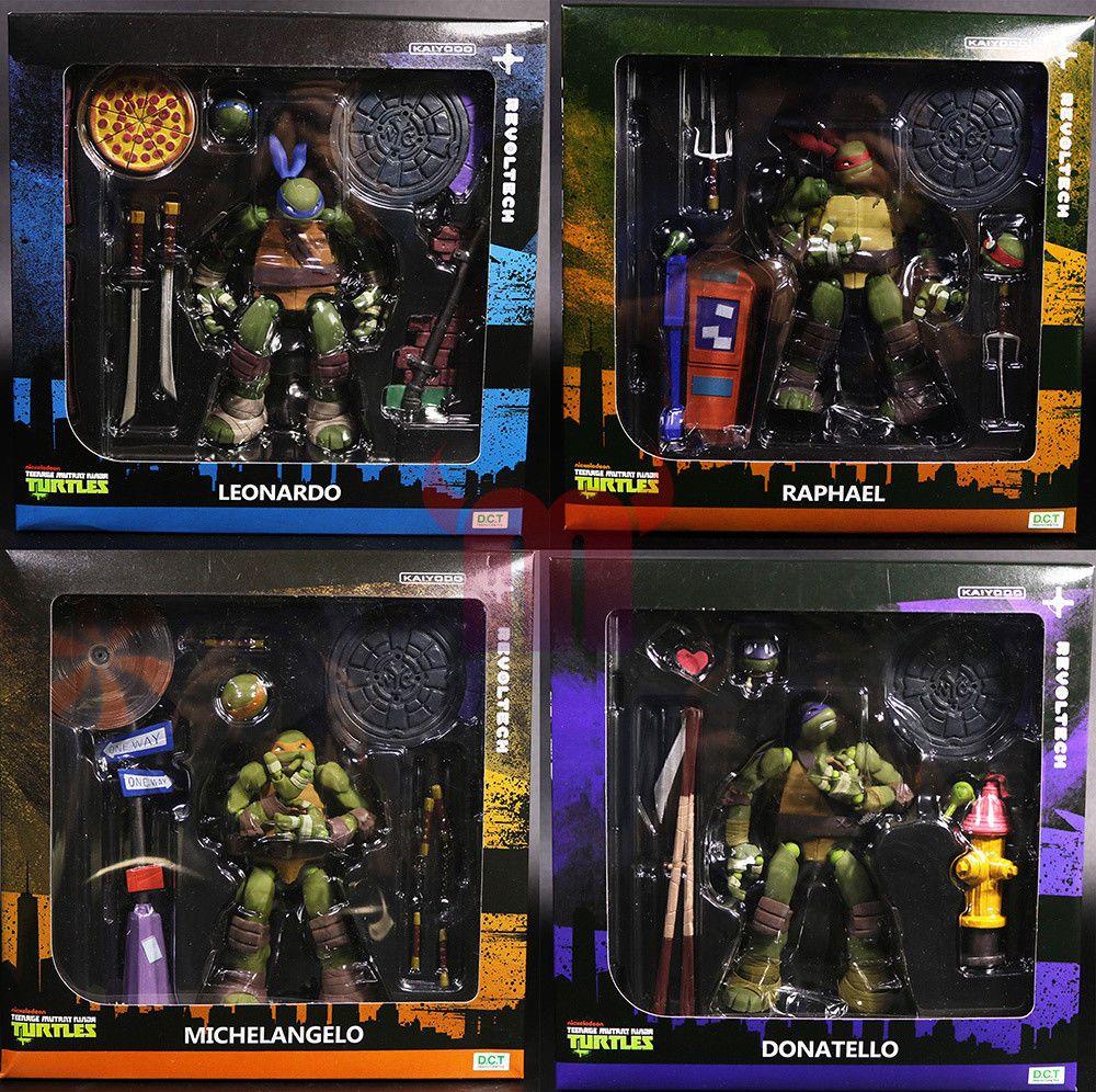 "Teenage Mutant Ninja Turtles TMNT 6/"" Action Figure Kaiyodo Revoltech Doll New"