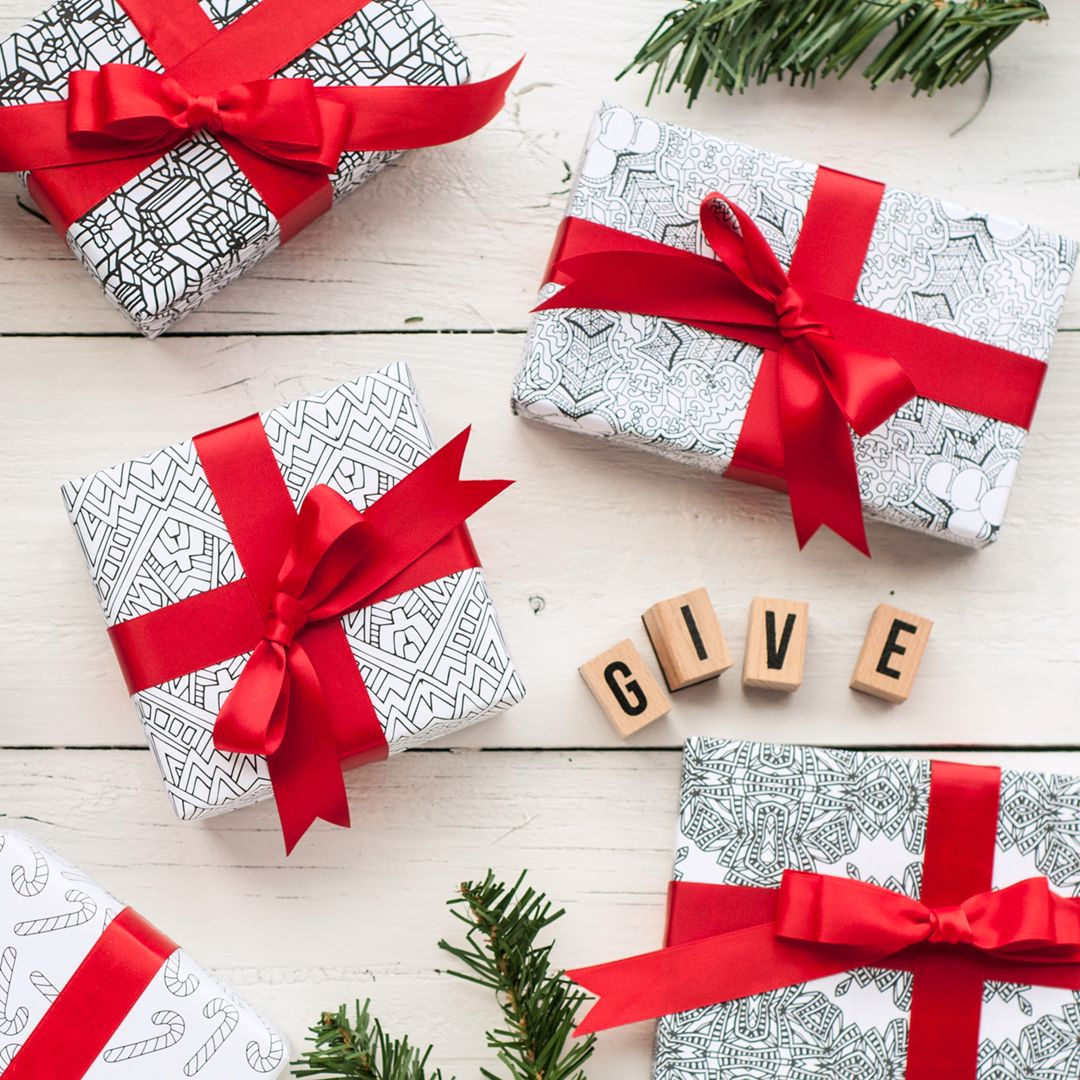 printable christmas wrapping paper | ~ printables ✂ | pinterest