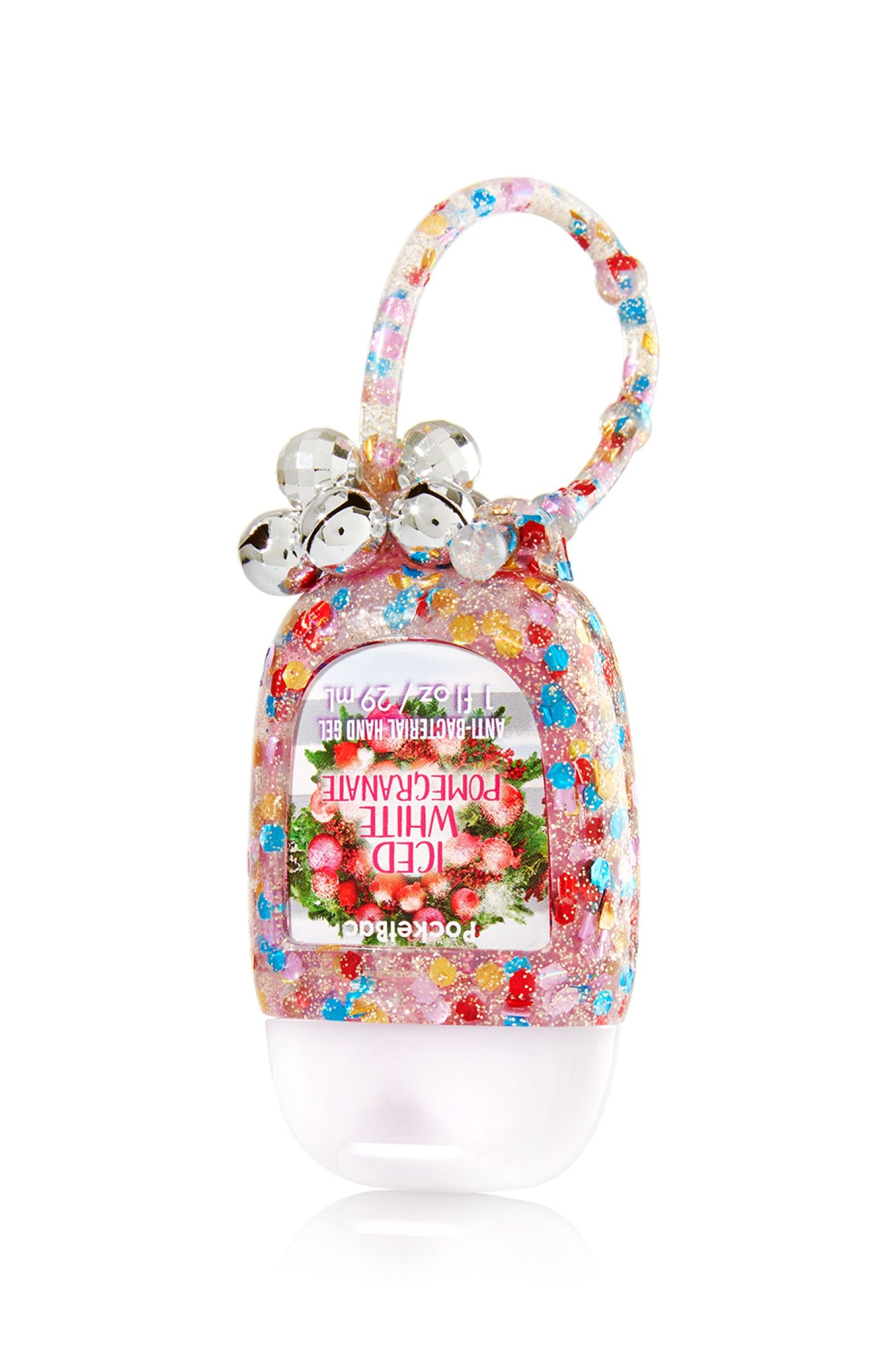 Bath And Body Works Jingle Bells Pocketbac Holder And Sanitizing