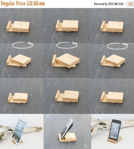 2020 的 Smartphone Wooden Stand Office Phone Stand Docking