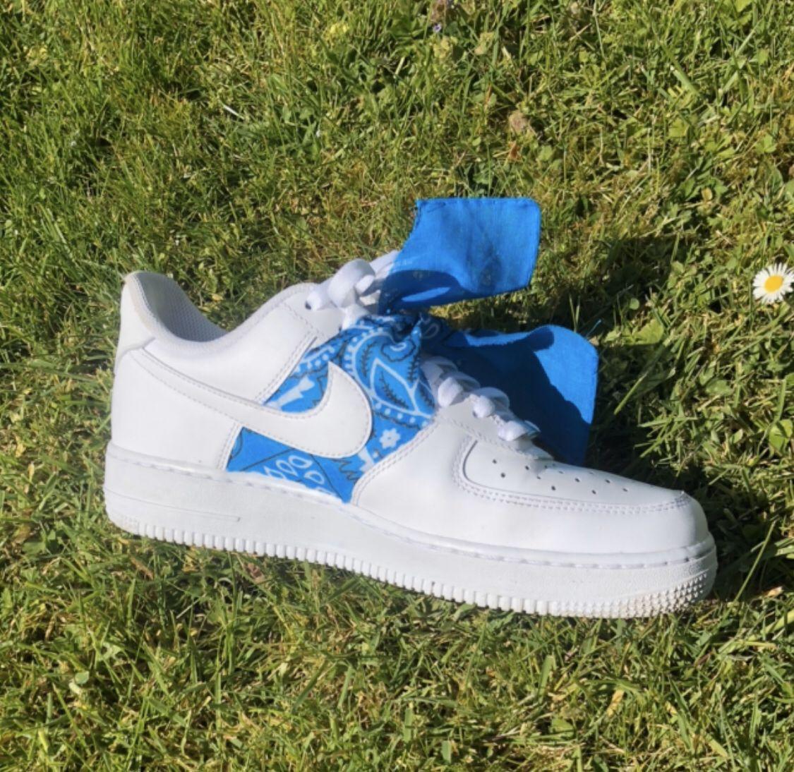 AF1 Custom Bandana in 2020 Sneakers nike, Nike air force