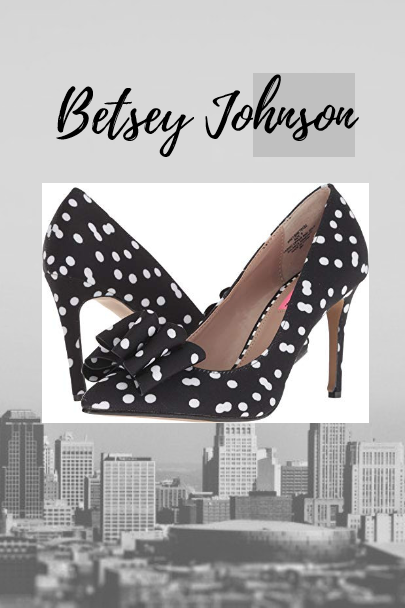 b914ff75687ea0 Fabric Imported Synthetic sole Thin heel Extra fabric design on the toe  Betsey Johnson