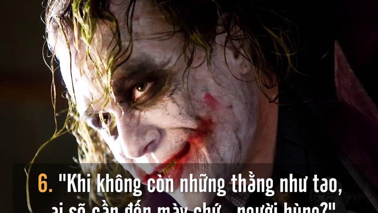 Những Câu Nói Hay Nhức Nhói - Những câu nói thâm sâu của Joker
