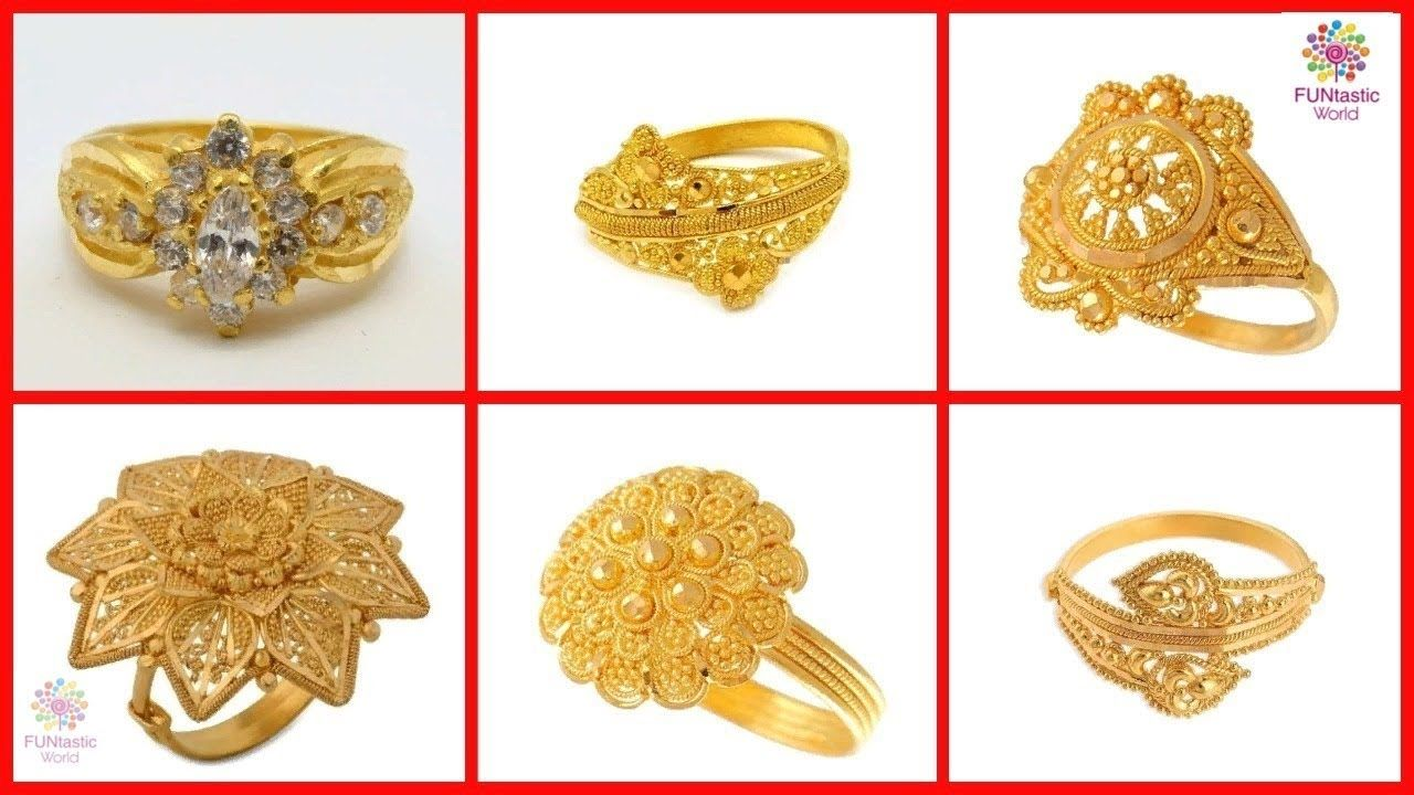 Top Beautiful Ladies Gold Rings Designs Latest Bridal Rings Women Fa Ladies Gold Rings Gold Ring Designs Bridal Rings