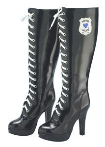 Hottie Police Adult Womens Boots