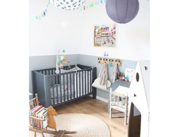 Chambre bebe vintage | le behbeh | Pinterest | Kids rooms, Room and ...