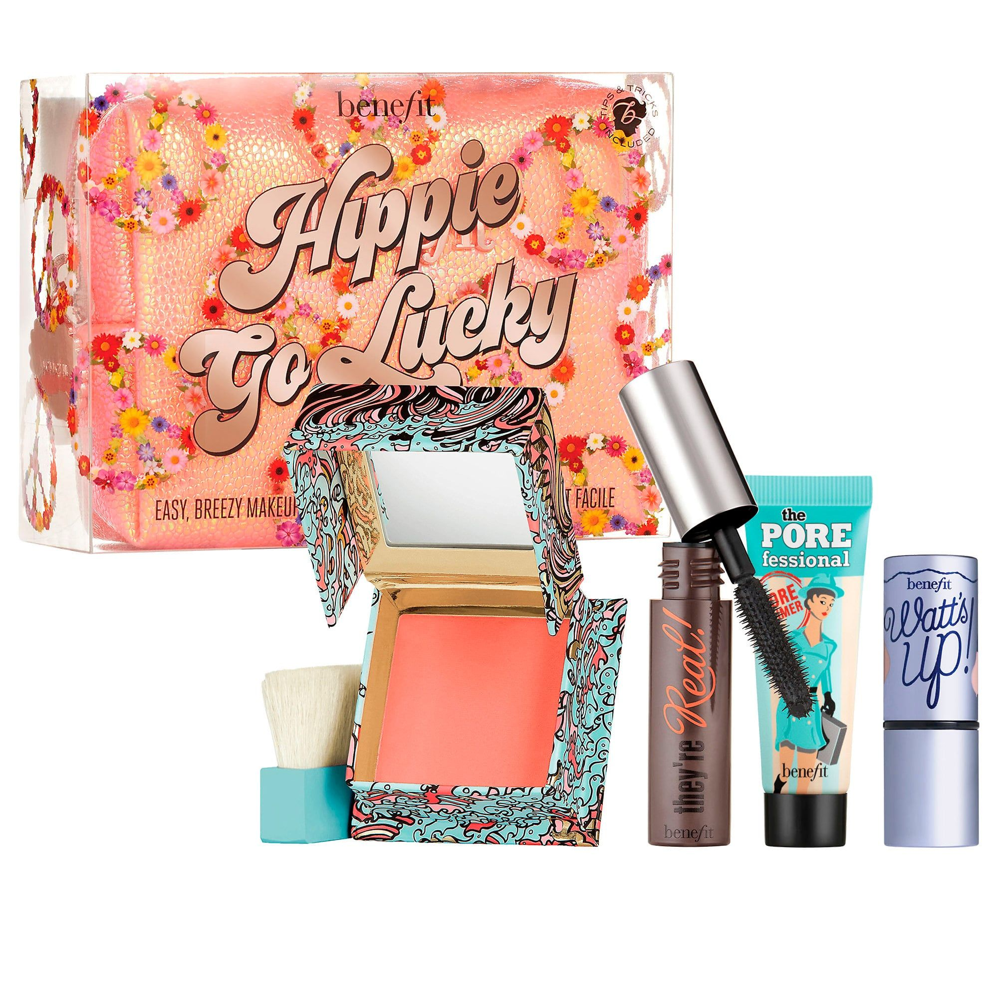 6ac416d70a2 Benefit Cosmetics Hippie Go Lucky Mascara & Face Mini Kit | Products ...
