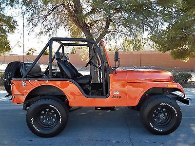 1975 Jeep CJ RESTORED WITH RARE FULL HARD TOP & FULL DOOR'S