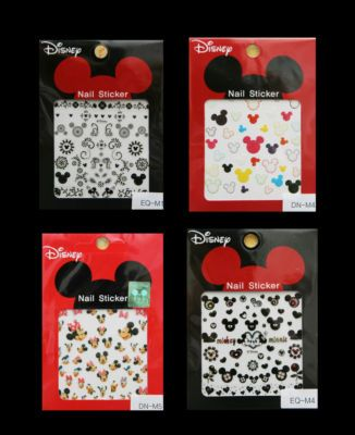Louloujustin Disney Korean Cute Nail Stickers Art